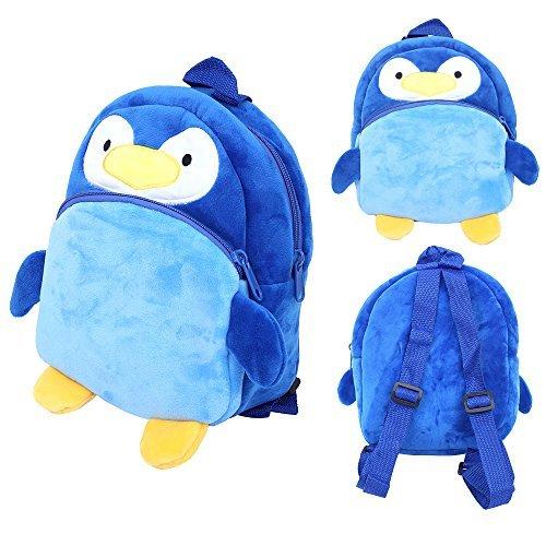 Baby Mini Cartoon Backpack Portable Schoolbag Toy (Pink) - 6