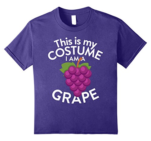 Kids This Is My Costume I'm A Grape T-shirt Grape Lovers 12 (Cute But Scary Halloween Costumes Ideas)