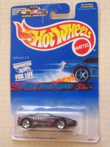 Hot Wheels Rockin Rods Series #2 Ferrari 355 5-spoke - Ferrari Sale Collection For