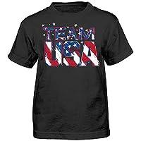 USOC Team USA Star Team Short Sleeve Tee, Large (7), Black