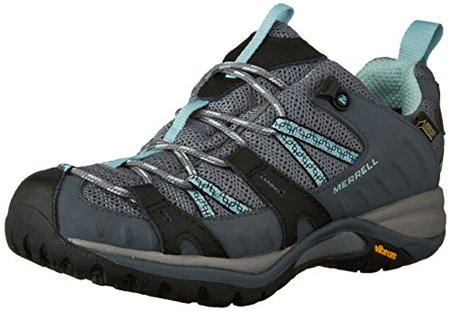 Womens Siren Sport Gore Tex (Merrell Siren Sport GORE-TEX Women's Walking Shoes - SS17 - 7 - Grey)