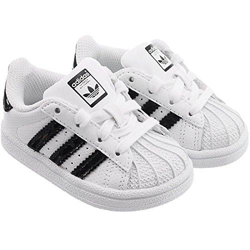 adidas Originals Superstar, Chaussures de Sport Homme - Blanc - Blanc (Ftwbla/Negbas/Ftwbla), 55 EU