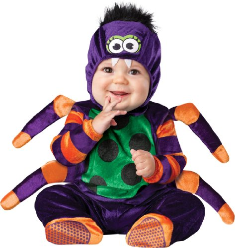 Costumes For All Occasions Ic16010Txs Itsy Bitsy Spider 2B (Itsy Bitsy Spider Costume Toddler)