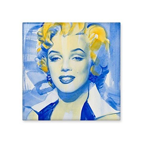 On Sale Watercolour Painting Marilyn Monroe Old Movie Picture Sexy Design  Illustration Pattern Ceramic Bisque Tiles
