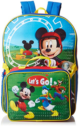 Mickey Mouse Backpack with Lunch Kit