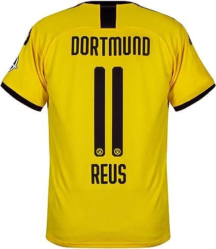 Amazon Com Puma Borussia Dortmund Home Reus 11 Jersey 2019 2020 Official Printing Clothing