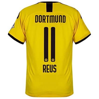 reputable site 4aad7 08687 Amazon.com : PUMA Borussia Dortmund Home Reus 11 Jersey 2019 ...