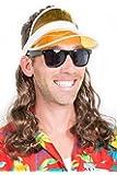 The Kook Mullet Wig Visor