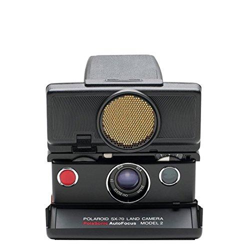 The Impossible Project Polaroid SX-70 Sonar Instant Film Camera (Black) (Sx 70 Sonar)