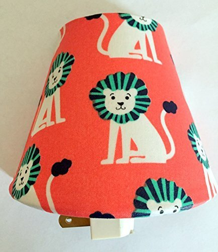 Lions Plug In Night Light / Nursery Decor / Baby Shower Gift / Kid's Room / Jungle Theme / African Animals / Tigers / Safari