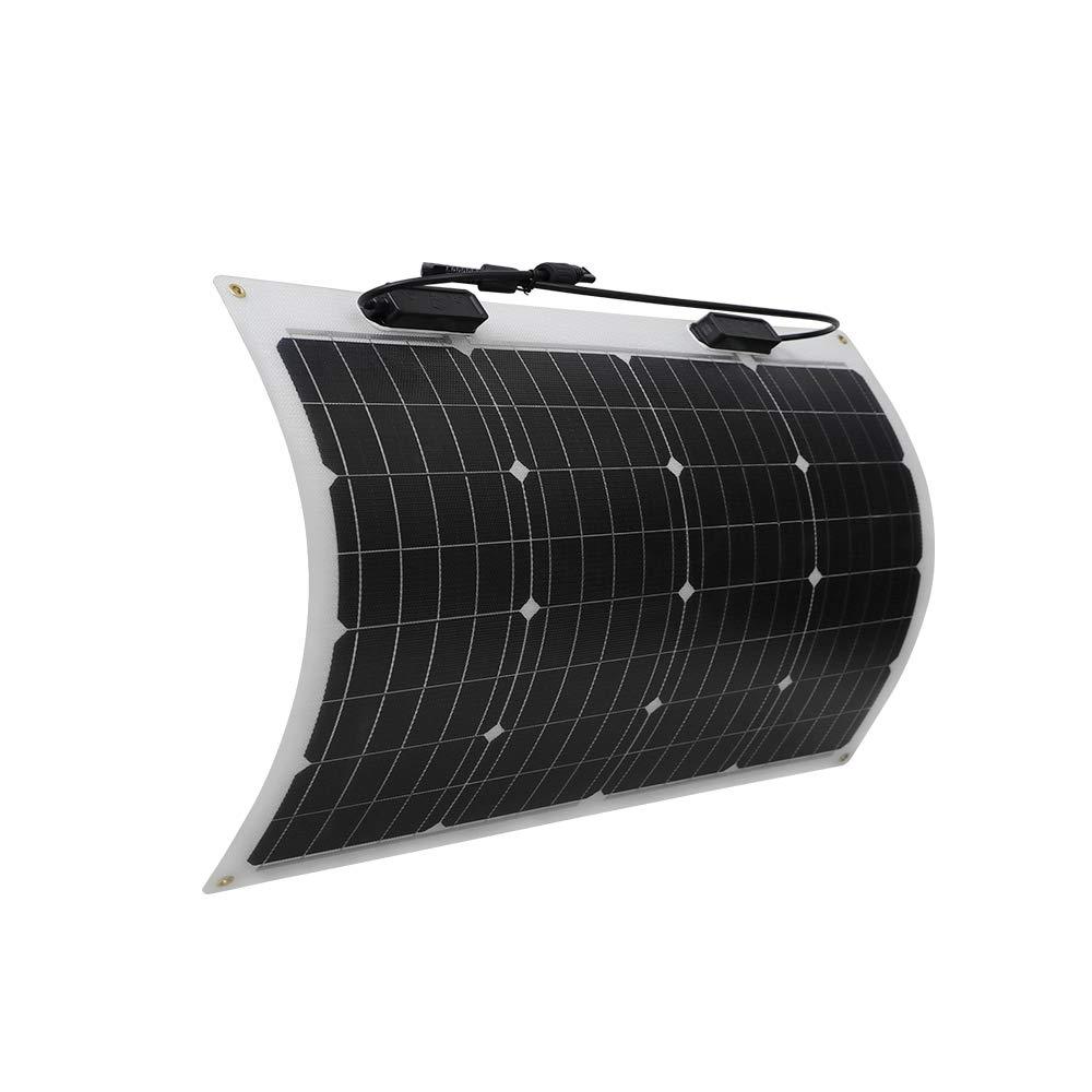 Renogy 50 Watt 12 Volt Extremely Flexible Monocrystalline Tiny Solar Panel