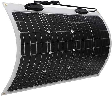side facing renogy 50 watt flexible solar panel