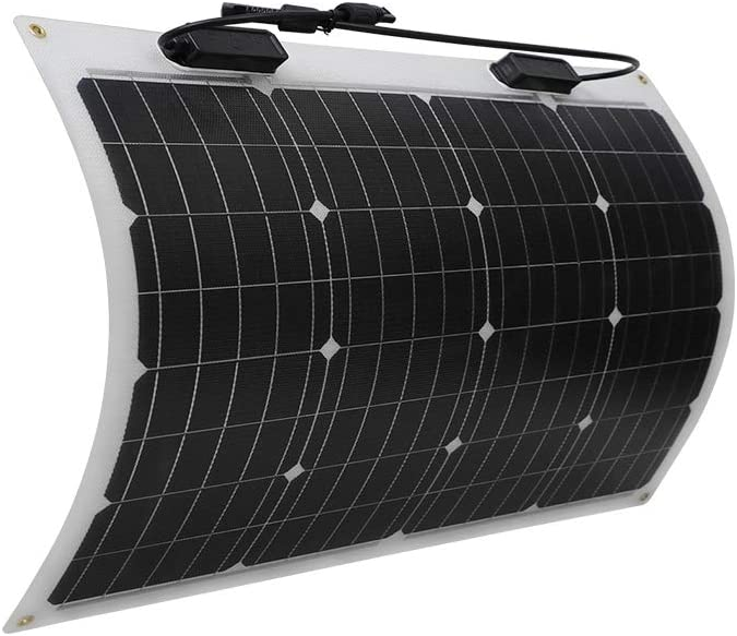 Renogy 50 Watt 12 Volt Extremely Flexible Monocrystalline Solar Panel