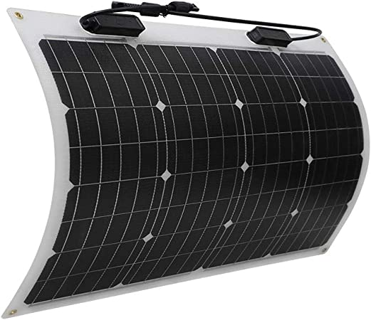 Renogy 50 Watt 12 Volt Extremely Flexible Monocrystalline Solar Panel Ultra Lightweight Ultra Thin Up To 248 Degree Arc For Rv Boats Roofs Uneven Surfaces Amazon Ca Patio Lawn Garden