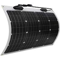 Renogy 50 Watt 12 Volt Extremely Flexible Monocrystalline Solar Panel - Ultra Lightweight, Ultra Thin, Up to 248 Degree…
