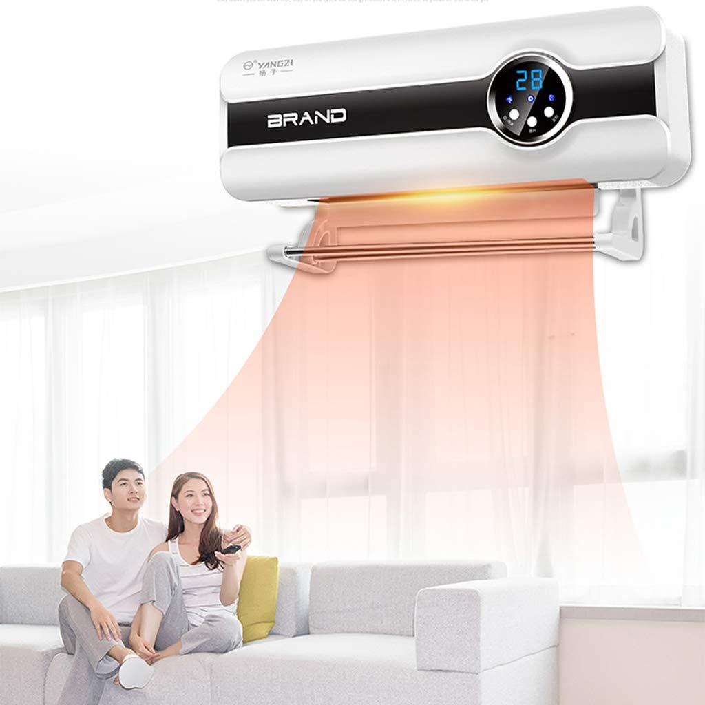 Display Digitale riscaldatore Elettrico a Doppio Uso Impermeabile for Bagno in Camera da Letto con stendino Telecomando for Riscaldamento a Parete e Funzione di temporizzazione di 8 Ore
