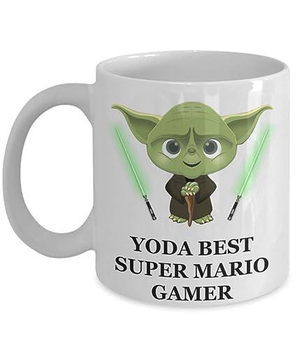 Yoda Best Super Mario Gamer Birthday Gifts For Game Lovers Husband Dad Son Boyfriend Brother Teens