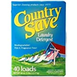 Country Save HE Powdered Laundry Detergent for Sensitive Skin, 5Lbs, 80 loads