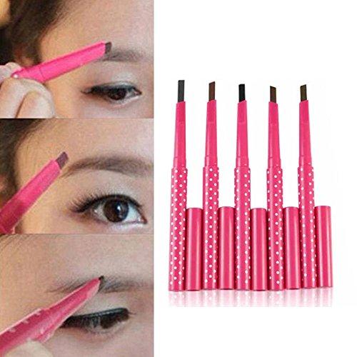 Oyedens Art Und Weise 5pcs Make-Up-Tool Wasserdicht Automatische Augenbrauenstift Augenbraue Liner