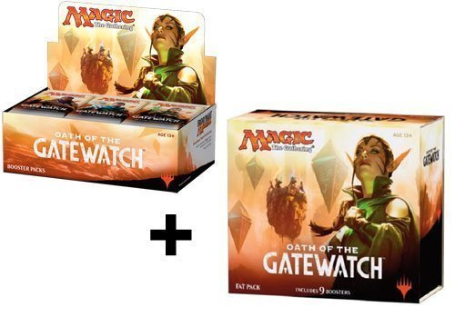 Booster Box + Fat Pack COMBO! Oath Of The Gatewatch - OGW MTG Magic the Gathering by Magic: the Gathering