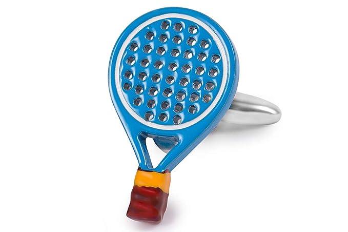 SoloGemelos - Gemelos Palas De Padel Azul - Azul Blanco - Hombres - Talla Unica: SoloGemelos: Amazon.es: Ropa y accesorios