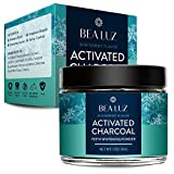 Image of Activated Charcoal Teeth Whitening Powder Made with Organic Coconut shell - Food Grade tooth whitener - Wintermint (30g)