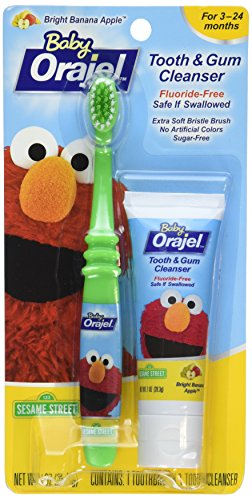 Orajel Baby Tooth/Gum Cleanser set (Pack of 2)