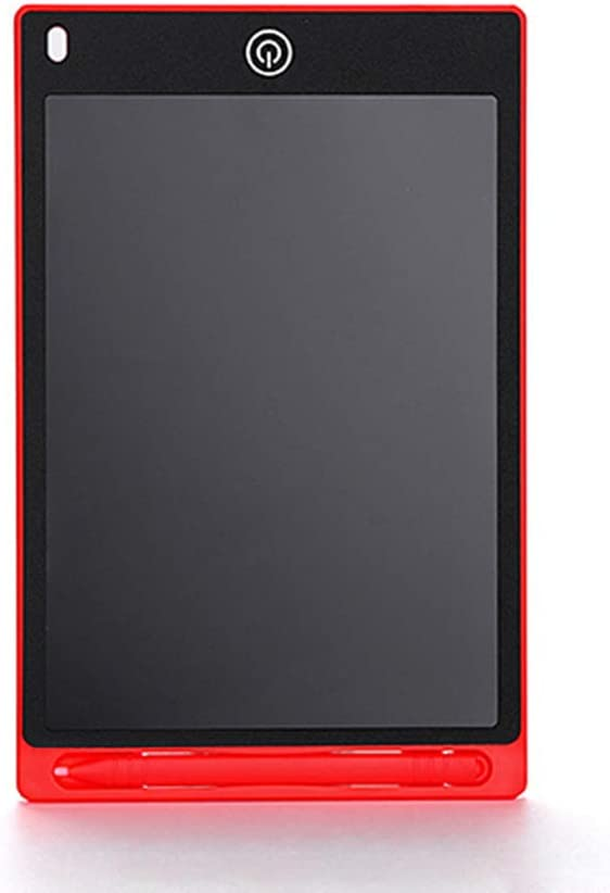 Red Family White-Collar,Children YSSWEET 12-Inch Flexible LCD Writing Tablet,Repeatedly Erasing and One Button Clear Screen Lock Screen,Suitable for Students