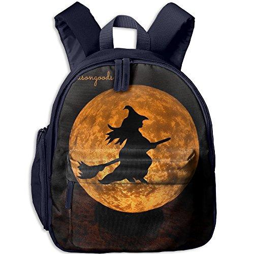 Halloween Moon Fashion School Bag Shoulder Daypack For Child -