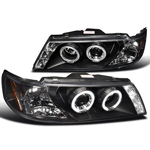 Spec-D Tuning 2LHP-SEN95JM-TM Nissan Sentra 200Sx Black Projector Head Lights
