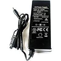 AC 100-240V To DC 12V 5A Power Supply Adapter Switching 5.5*2.1mm For CCTV Camera DVR NVR Led Light Strip UL Listed FCC