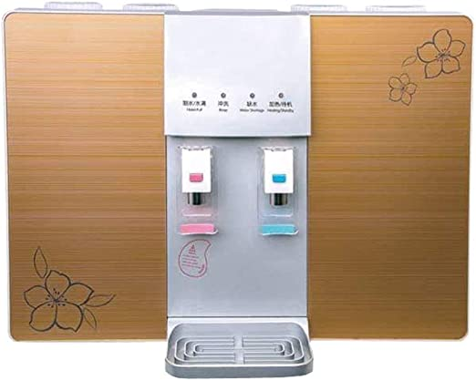 Purificador de agua Tipo de encimera, calefacción doméstica Máquina integrada Consumo Directo de Escritorio Osmosis inversa Filtro de Agua Potable, Fácil de Instalar ...
