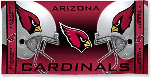 Wincraft Arizona Cardinals Fiber Reactive Beach Towel Dueling Helmets