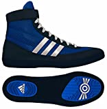 Adidas Combat Speed 4 Wrestling Shoes Royal/White/Navy Size 11.5