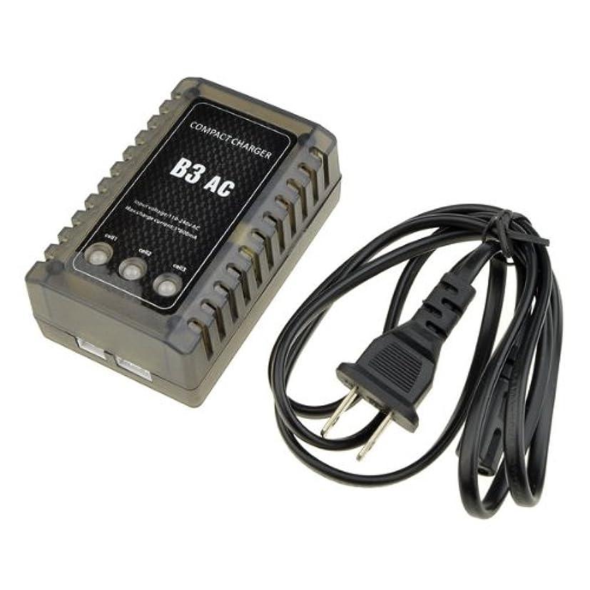 不健全ほとんどの場合回転RC B3 LiPo 2S-3S バッテリー バランサ 充電器 チャージャー 7.4-11.1V RC Proコンパクト チャージャー 充電器 B3AC