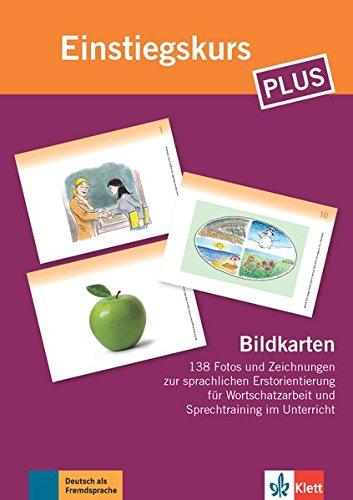 Einstiegskurs Plus: Deutsch in Allltag und Beruf . Bildkarten (Berliner Platz NEU)