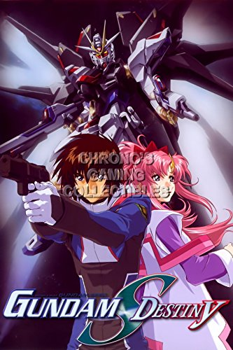 Gundam CGC Huge Poster Glossy Finish - Mobile Suit Seed Destiny Anime Destiny - GUNS06 (16