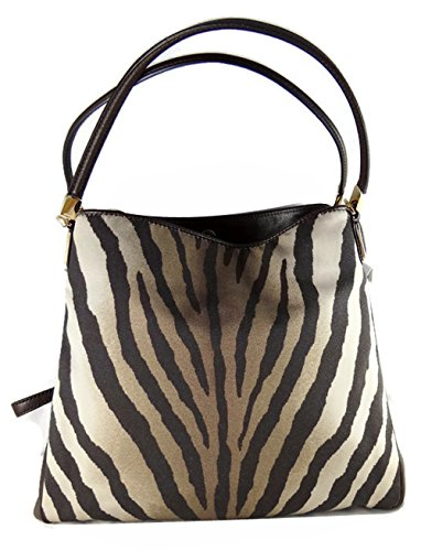 - Coach Madison Phoebe Zebra Print Shoulder Bag 26636