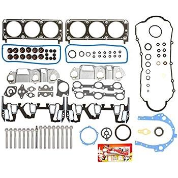 Head Gasket Set W//Bolts Kit Fit 95-99 Buick Chevrolet Pontiac Oldsmobile 3.1L