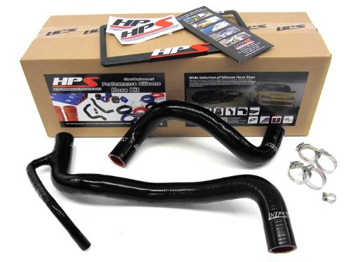 Black Silicone Radiator Hose Kit for Scion 57-1060-BLK HPS