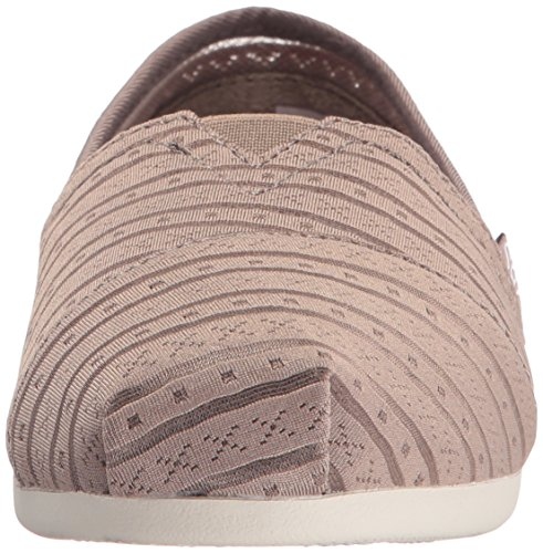 Skechers Fashion Women's Plush BOBS Urban Slip from Rose On Taupe Flat OfrqOwnpPx