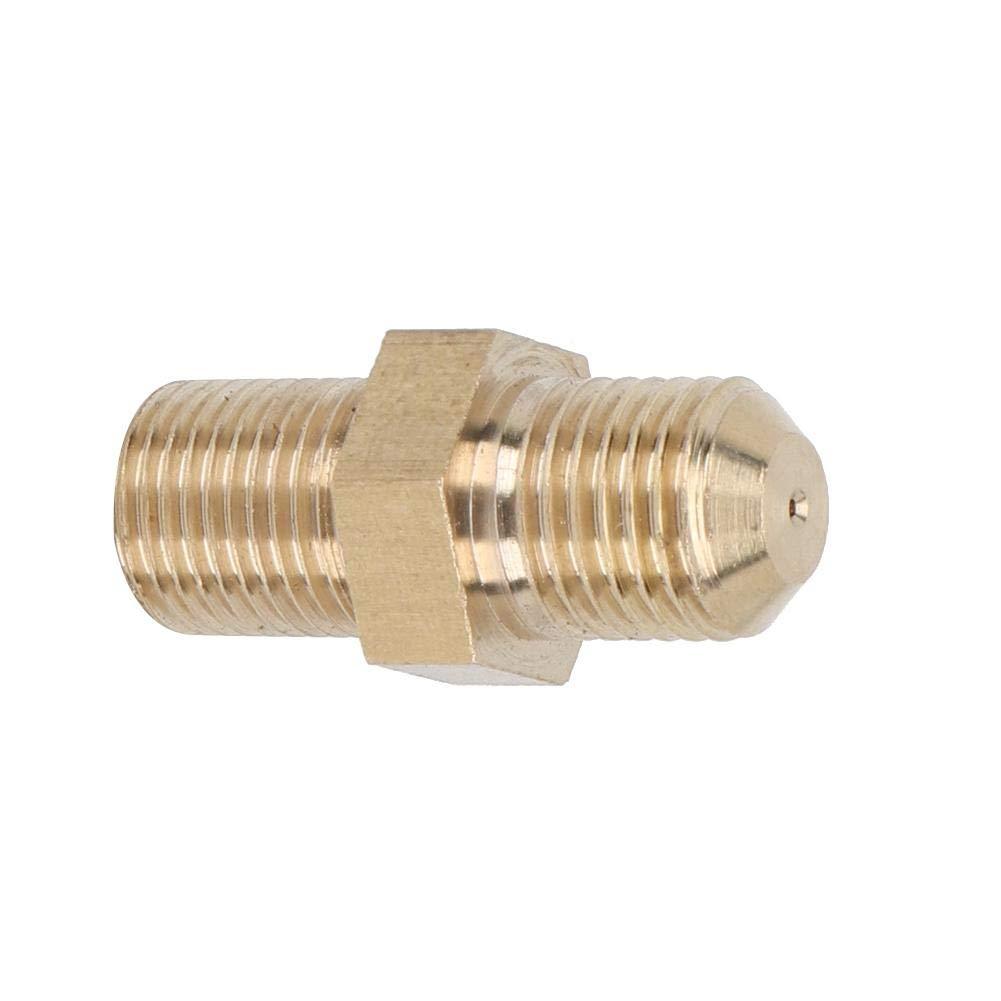 adaptateur dalimentation dentr/ée dhuile 4AN avec r/éducteur de 1,0 mm pour Turbo /à roulement /à billes GT28//GT30//GT35R Adaptateur Suuonee Turbo