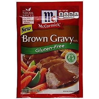 Mccormick Gluten-free Brown Gravy Mix .88 Oz Pack of 3