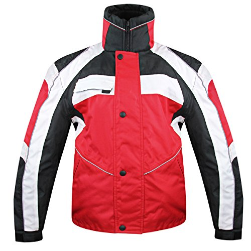 Snow Master Mens Stormer Insul Tex Red Cold Weather Motorcycle/Snowmobile Jacke - ()