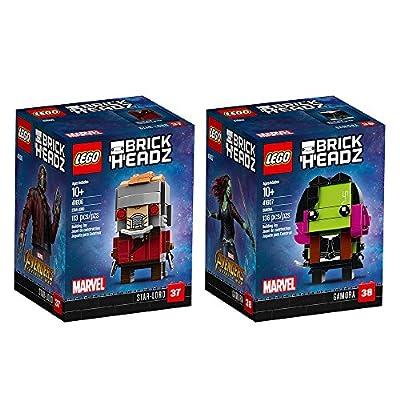 LEGO BrickHeadz Brickheadz Bundle 3 Building Kit (249 Piece) Stacking Toys