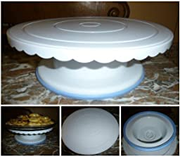 Amazon.com Cake Turntable - 360 Degrees - 4 Inches Tall ...