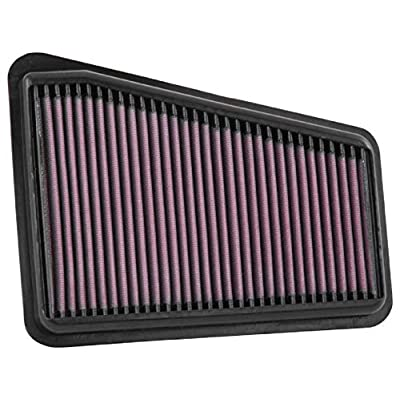 K&N Engine Air Filter: High Performance, Premium, Washable, Replacement Filter: 2020-2020 GENESIS/KIA (G70, Stinger), 33-5068: Automotive
