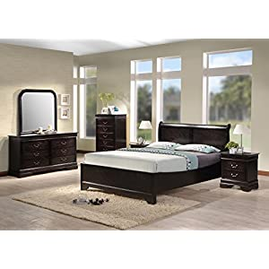 Best Quality Furniture B81QSet Bedroom Set, Queen