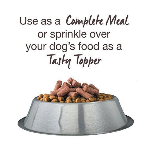 Freeze Dried Dog Food Topper By K9 Natural - Perfect Grain Free, Healthy, Hypoallergenic Limited Ingredients For All Dogs - Raw, Freeze Dried Mixer - Beef Topper - 5oz Pack by K9 Natural (Image #2)