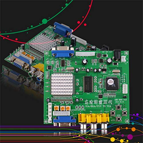 Yuv Component - Module/component,Green 117*100*20 mm 5VDC +/- 0.5v (2A) Arcade Game RGB/CGA/EGA/YUV to VGA HD Video Converter Board HD9800/GBS8200